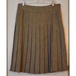 Liz Claiborne Pleated Skirt in Size 12